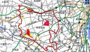 1地籍調査状況マップ世田谷区